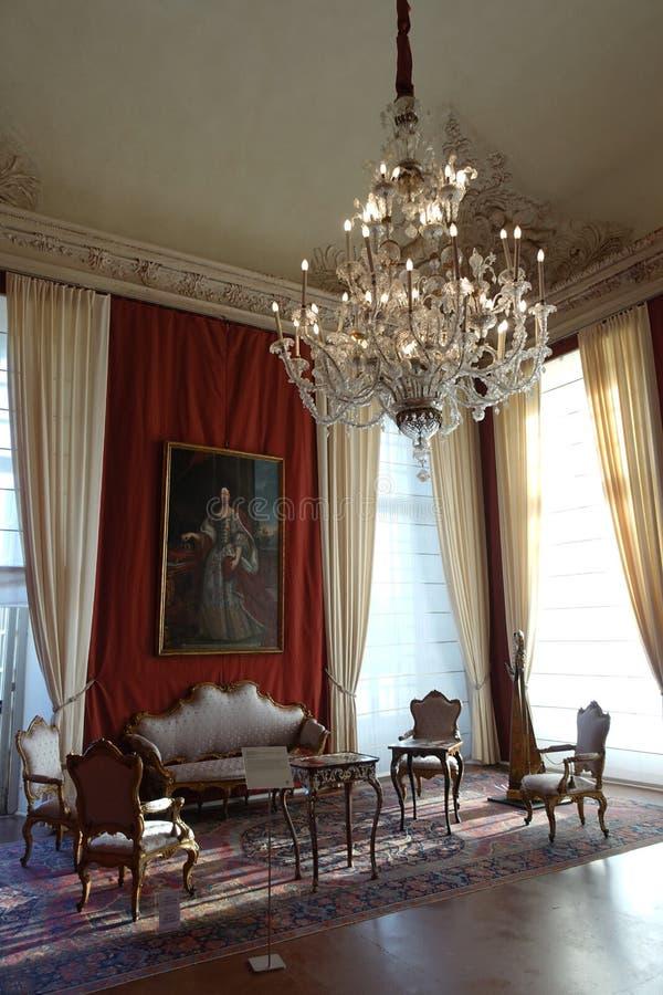 Torino il palazzo reale di Venaria Reale fotografie stock libere da diritti
