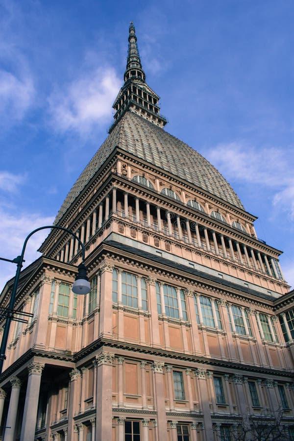 Torino, Italie - taupe Antonelliana images libres de droits
