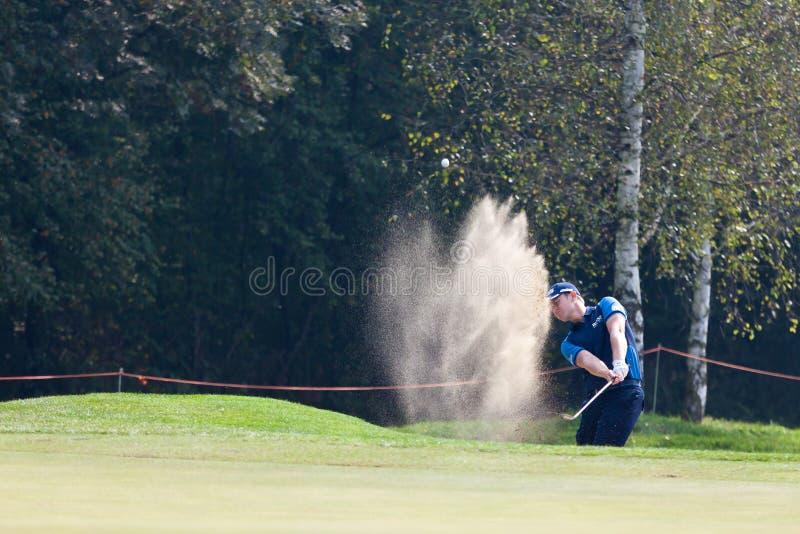 Torino (ITALY) SEPTEMBER 22: 70' Italian Open, Golf Club Torino. Italian national open golf championship for men on september 22, 2013. Golf Club Torino stock images