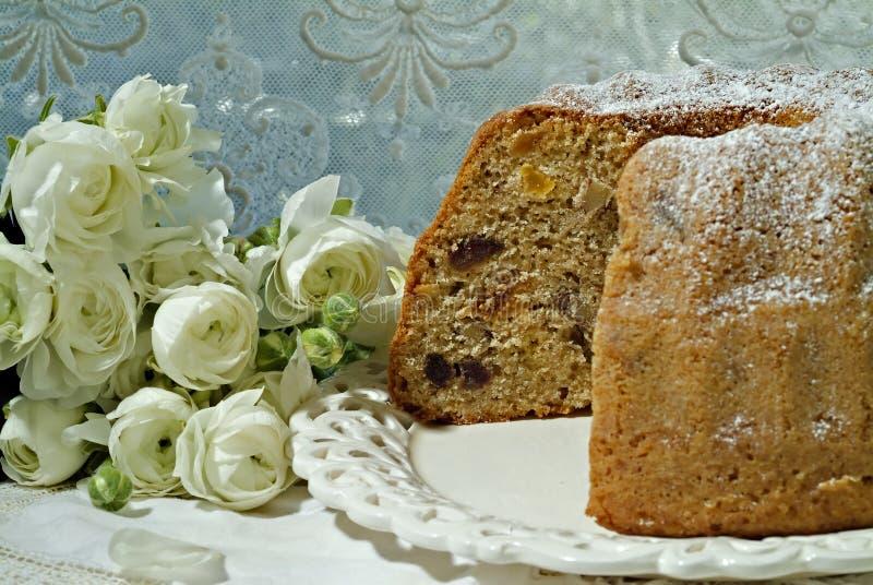 torkad cake - frukt fotografering för bildbyråer