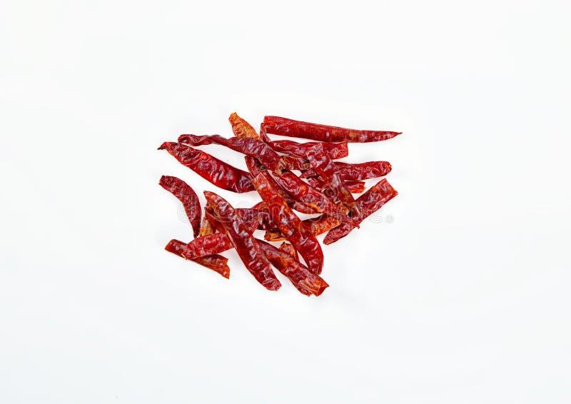 torkad chili royaltyfria foton
