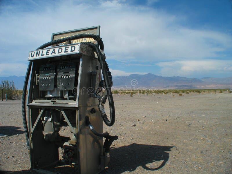 torkad gas pump upp arkivfoton