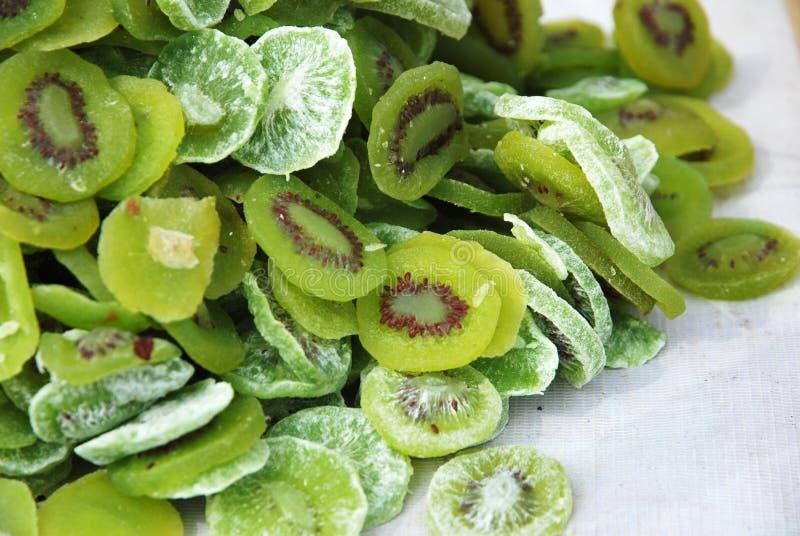 Torkad kiwi - frukt royaltyfri foto