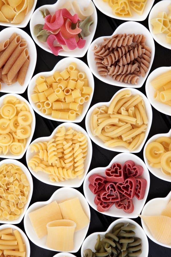 torkad pasta royaltyfria foton