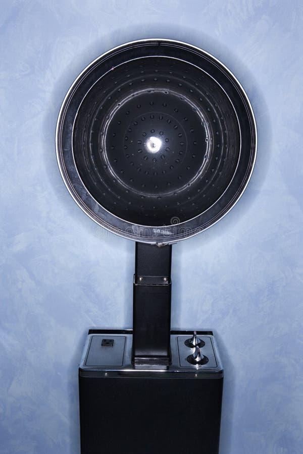 torkande hår för stol fotografering för bildbyråer