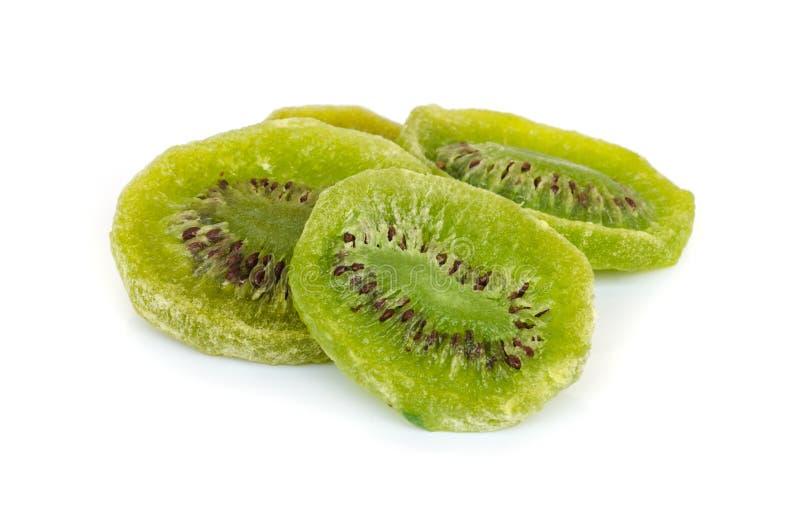torkat - fruktkiwi royaltyfri foto