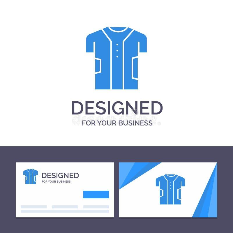 Torkduk för idérik mall för affärskort och logo, kläder, Digital som är elektronisk, tygvektorillustration stock illustrationer