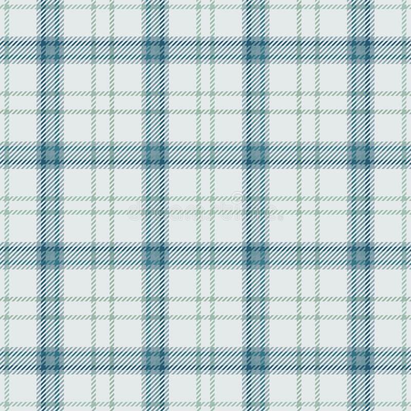 Torkduk f?r tartan f?r tygpl?d skotsk Design stock illustrationer