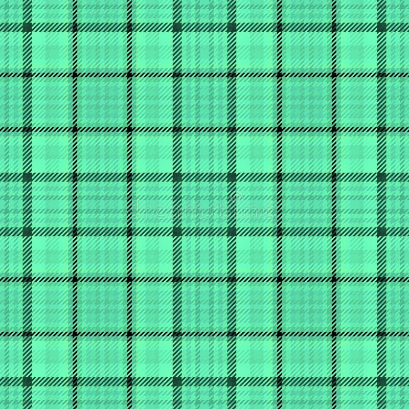 Torkduk f?r tartan f?r tygpl?d skotsk E stock illustrationer