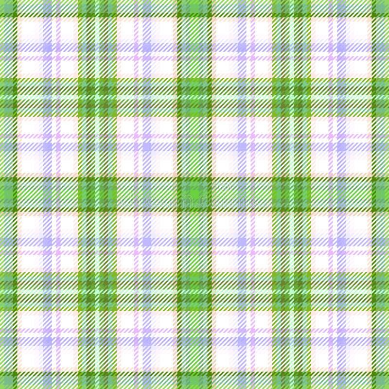 Torkduk f?r tartan f?r tygpl?d skotsk scotland royaltyfri illustrationer