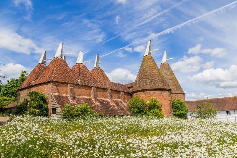 Torkhushus i Sussex, UK royaltyfri foto