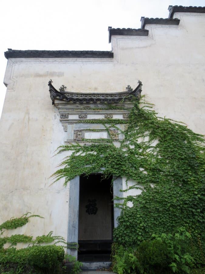 Torkopf von Huizhou-Architektur lizenzfreie stockfotos