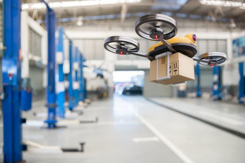 Torktumlare för reservdelsleverans i bilverkstäder i ledande bilservicecenter för leverans av mekaniska transportkomponenter arkivfoton