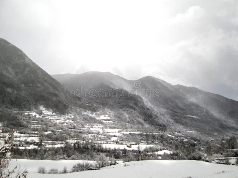 Torla-Ordesa, Pyrénées, Espagne photos stock