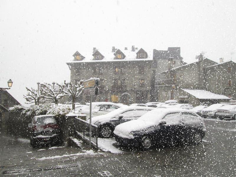 Torla-Ordesa, Pyrenees, Espanha foto de stock royalty free