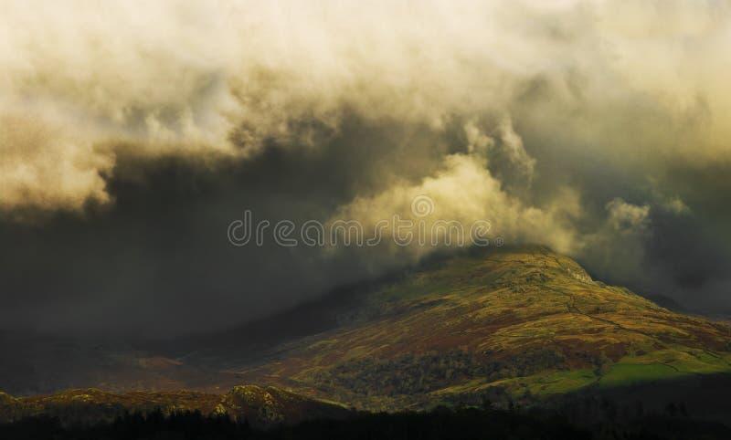 Tormenta de Cumbria foto de archivo libre de regalías