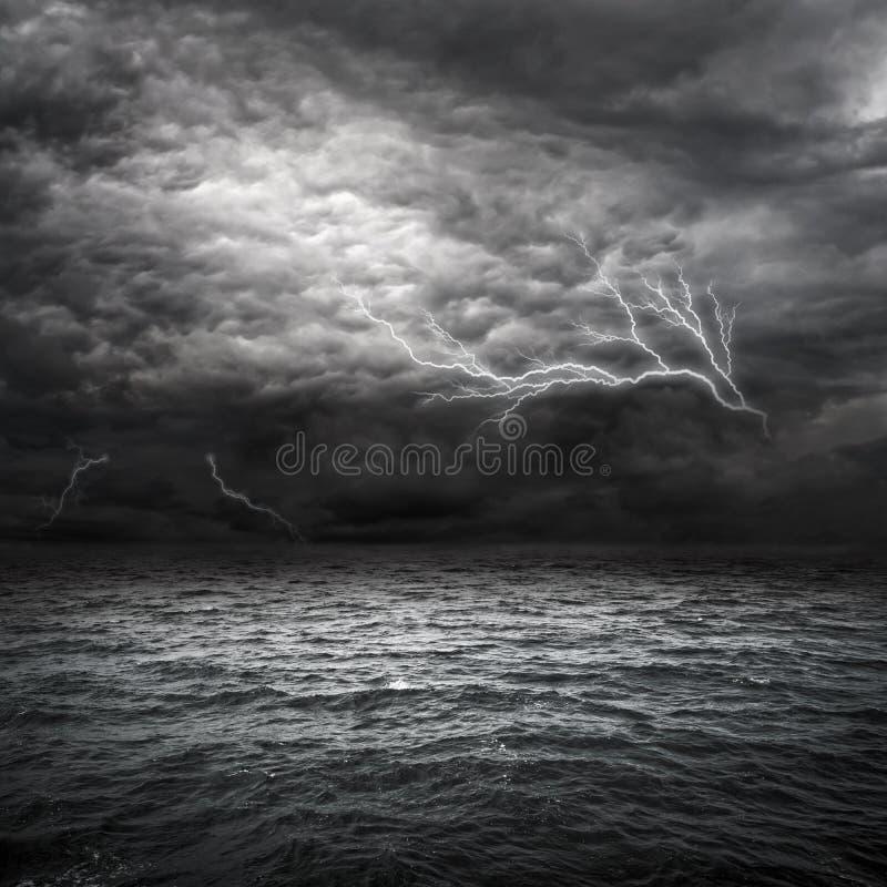 Tormenta de Océano Atlántico foto de archivo