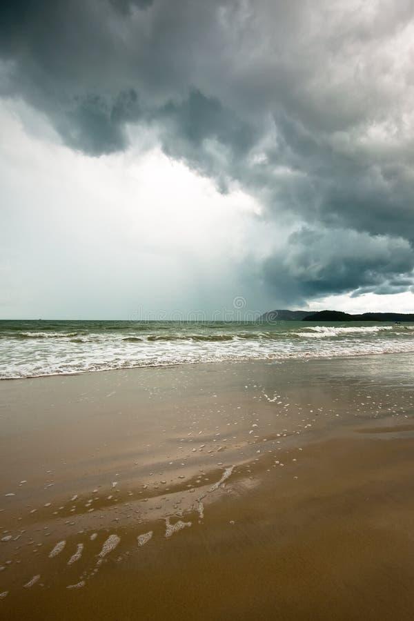 Tormenta tropical fotografía de archivo libre de regalías