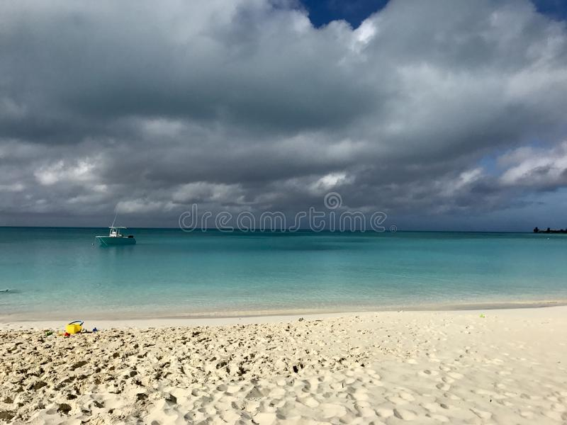 Tormentoso no Bahamas imagem de stock royalty free