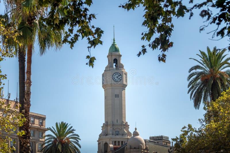 Torn av Buenos Aires stadslagstiftande församling - Legislatura de la Ciudad de Buenos Aires - Buenos Aires, Argentina arkivbilder
