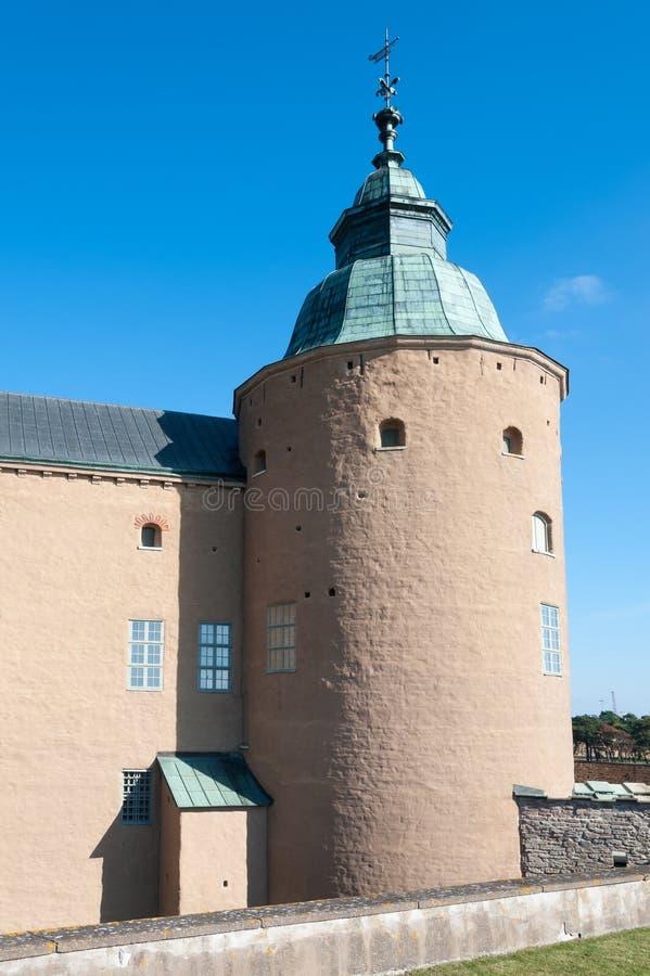 Torn av den Kalmar slotten, Sverige royaltyfria bilder