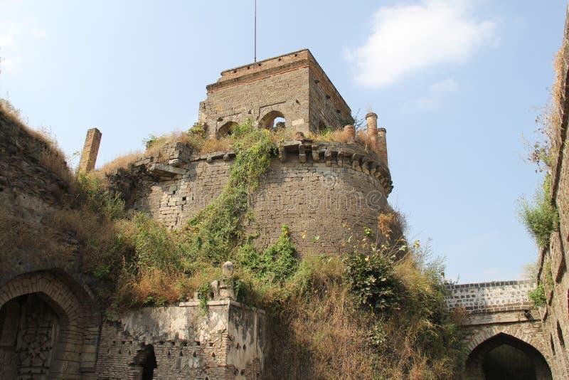 Torn av det Ausa fortet arkivbild