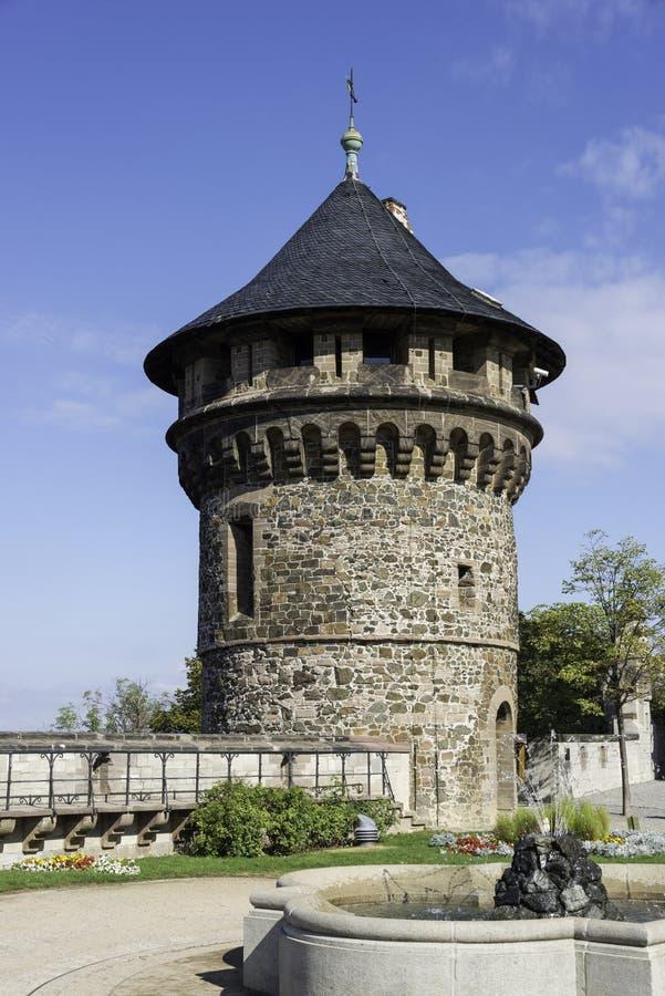Torn av slottwernigerode fotografering för bildbyråer
