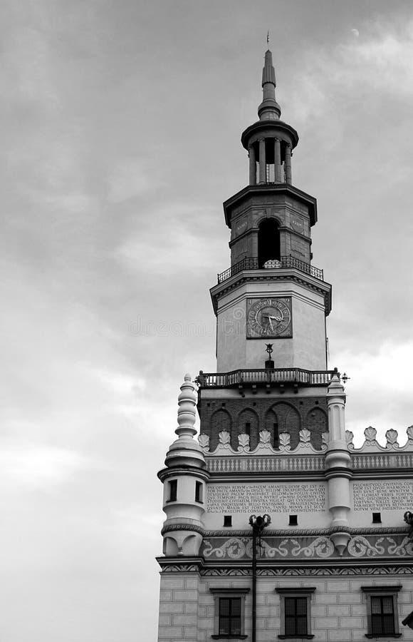 Torn av staden Hal royaltyfri bild