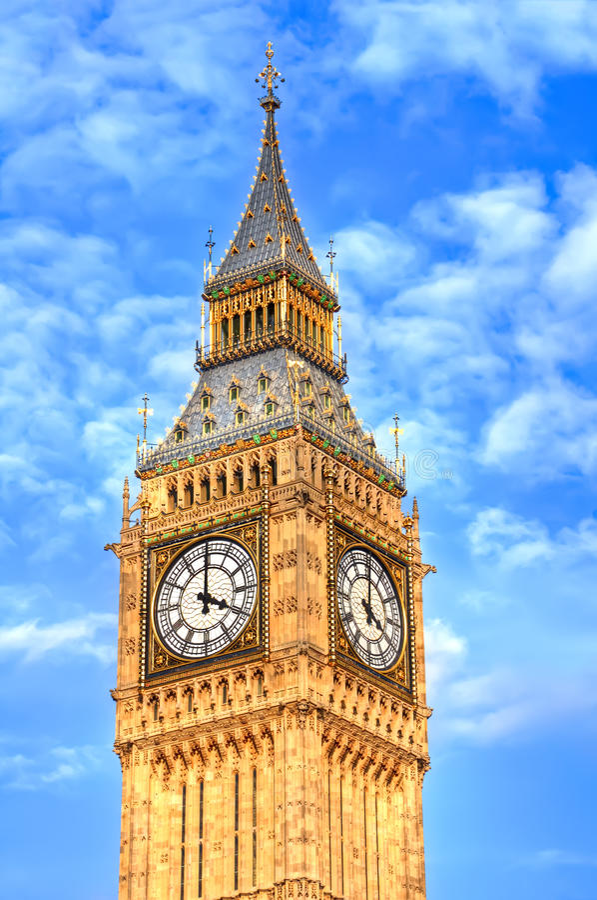 Torn av stora Ben fotografering för bildbyråer