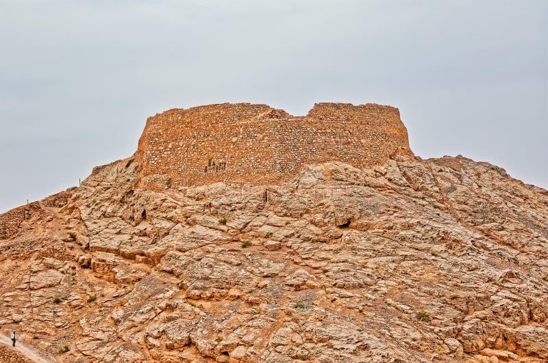 Torn av tystnadöverkanten arkivfoto