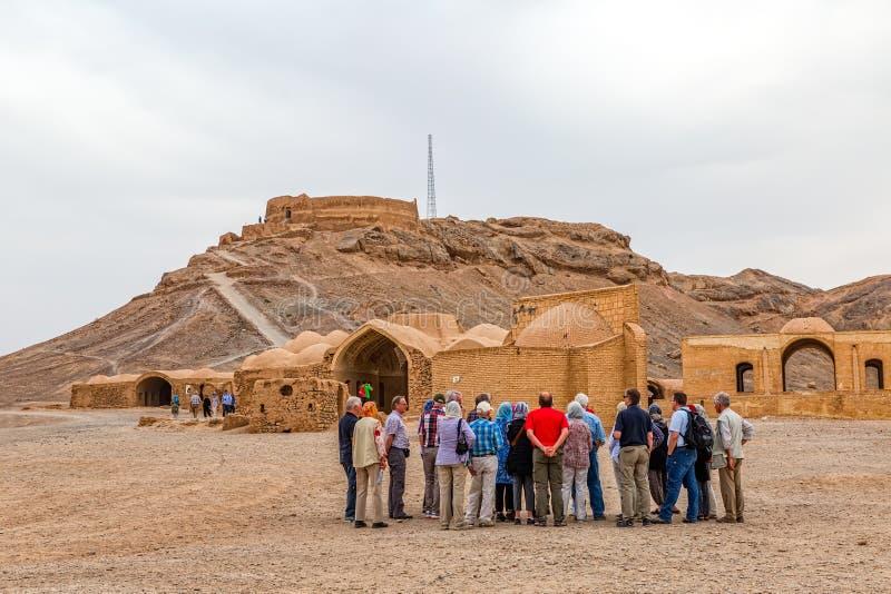 Torn av tystnad i Yazd arkivbild