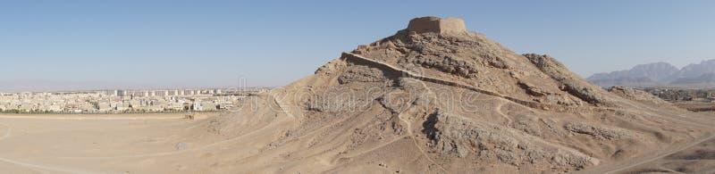 Torn av tystnad, Yazd, Iran, Asien arkivbild