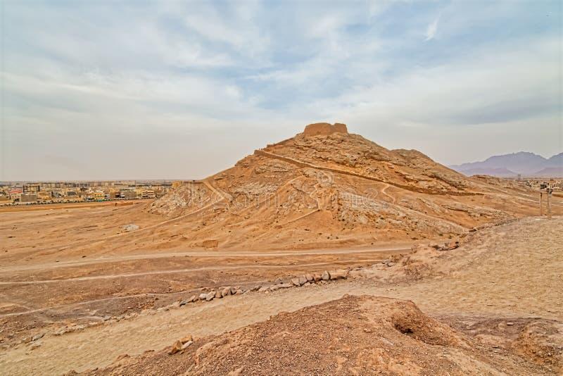 Torn av tystnadpanoramautsikten arkivbilder