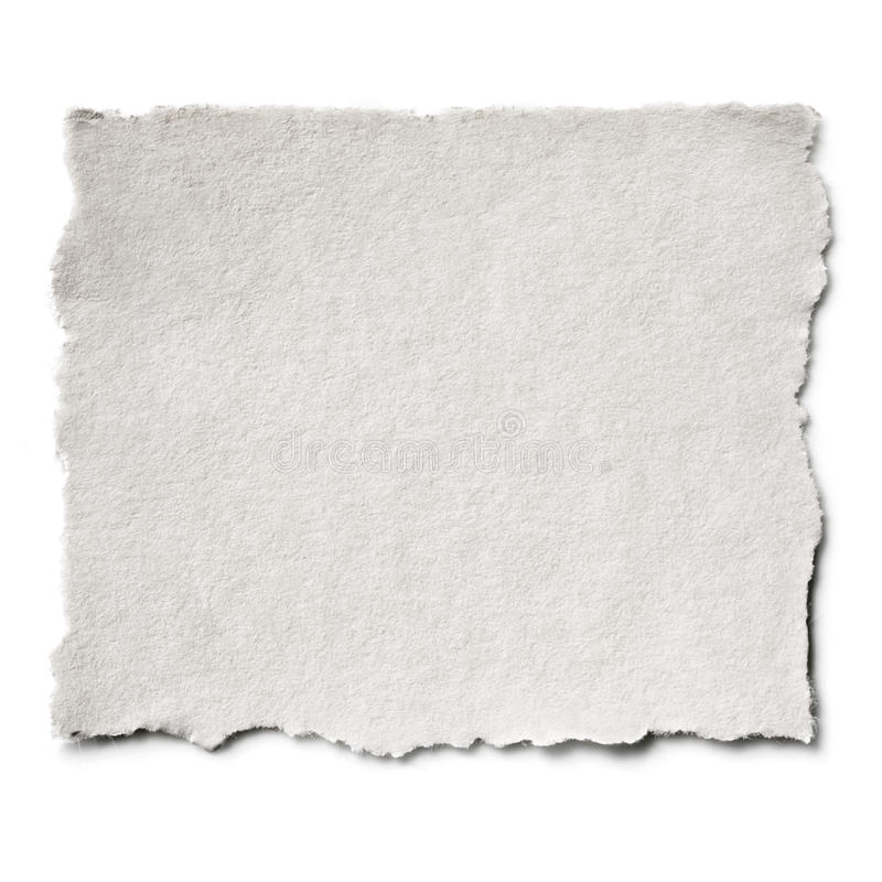 Download Torn Paper Isolated stock photo. Image of square, isolated - 30151032