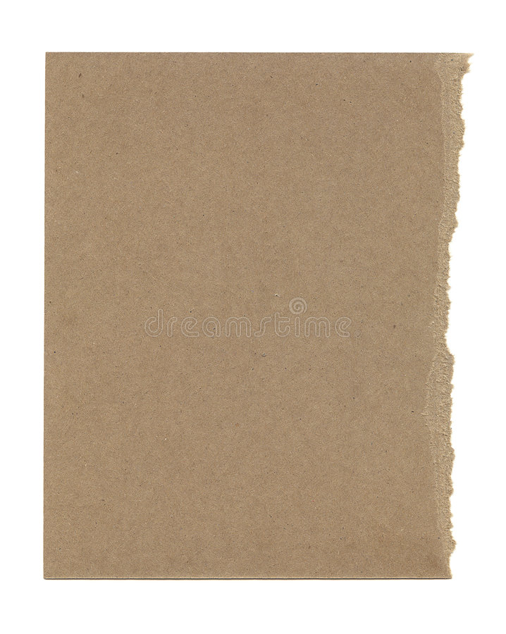 Free Torn Brown Paper Royalty Free Stock Photos - 6240608
