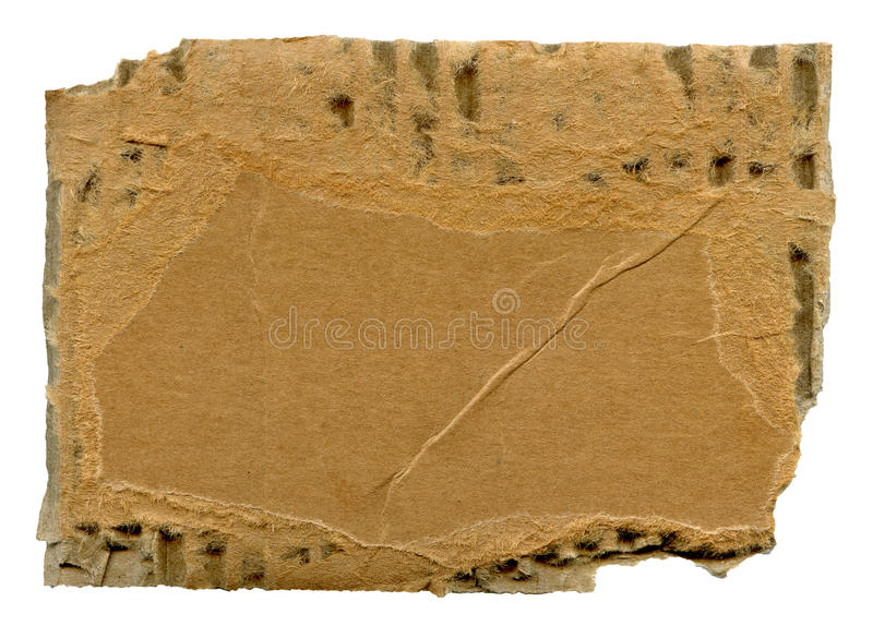 Torn Cardboard Royalty Free Stock Image