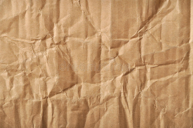 Torn cardboard. Torn section of a corrugated carton stock photos