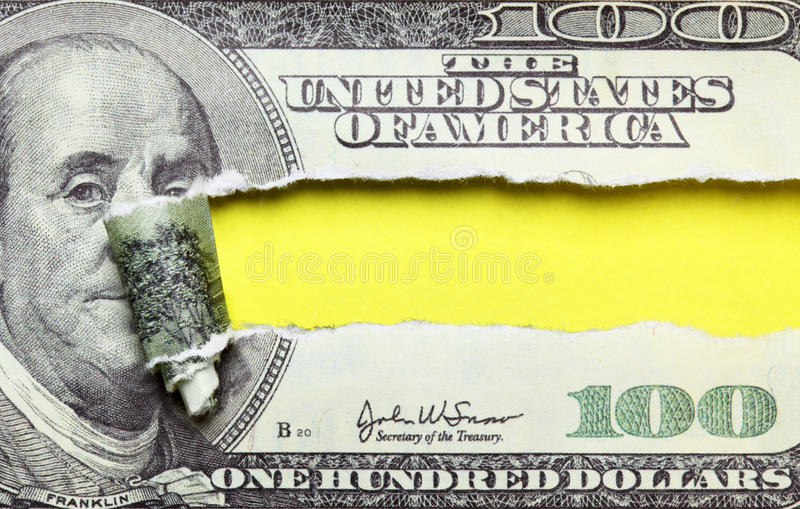 Download Torn dollars stock image. Image of dollar, bill, american - 19498399