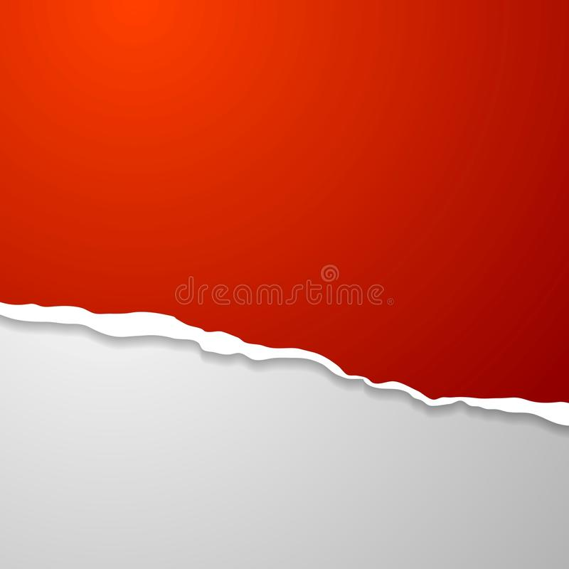 Torn Edge Paper Abstract Background Stock Vector - Image ...