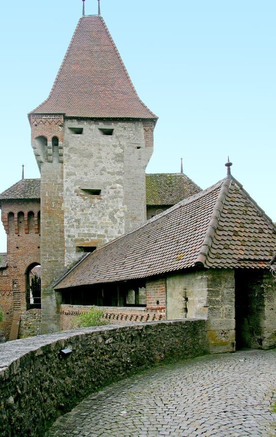 torn för 9 slott arkivbild