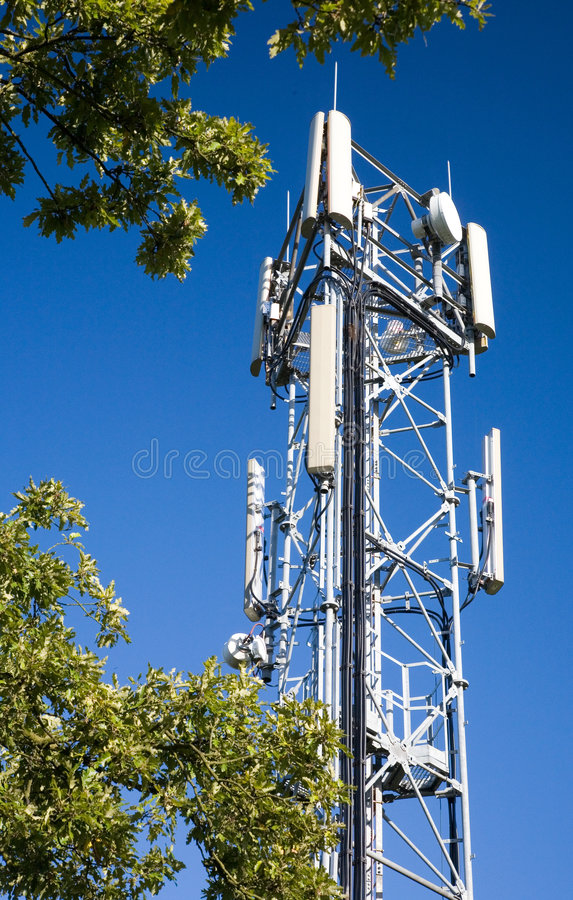 torn för antenncelltelefon royaltyfri foto