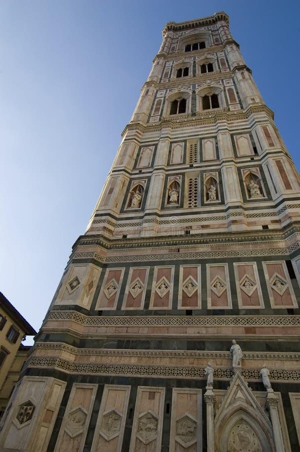 torn för klockaflorence giotto s royaltyfri bild