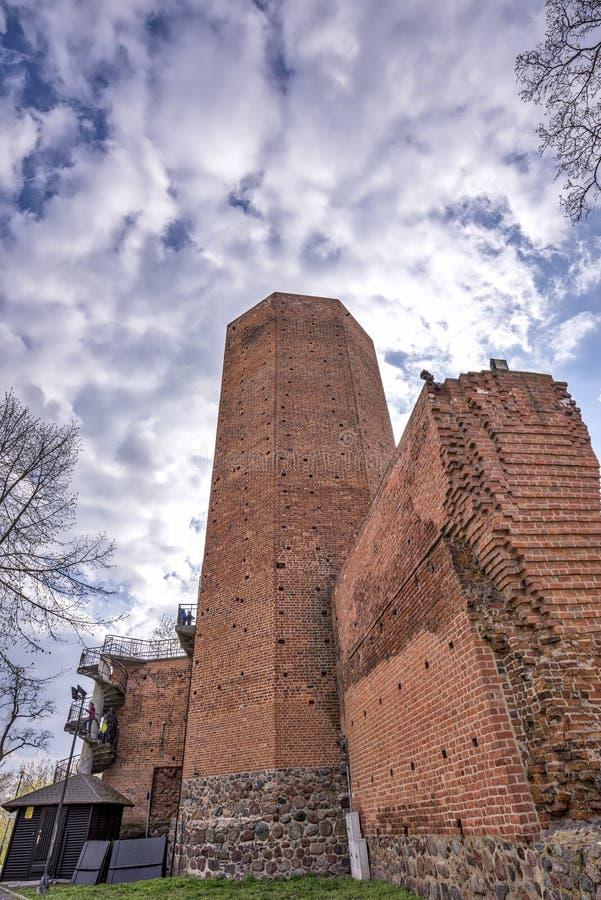 Torn för mus` s i Kruszwica royaltyfria foton