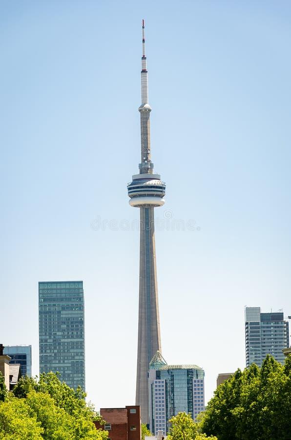 Torn för Toronto CN (kanadensisk medborgare), Toronto, Ontario royaltyfri foto