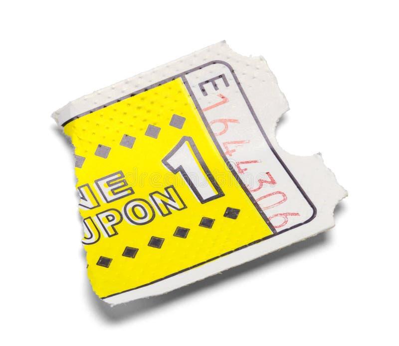 Torn Game Ticket stock photos