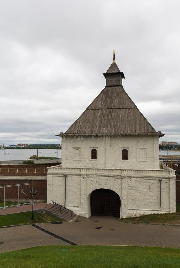 Torn i Kazan kremlin royaltyfri bild