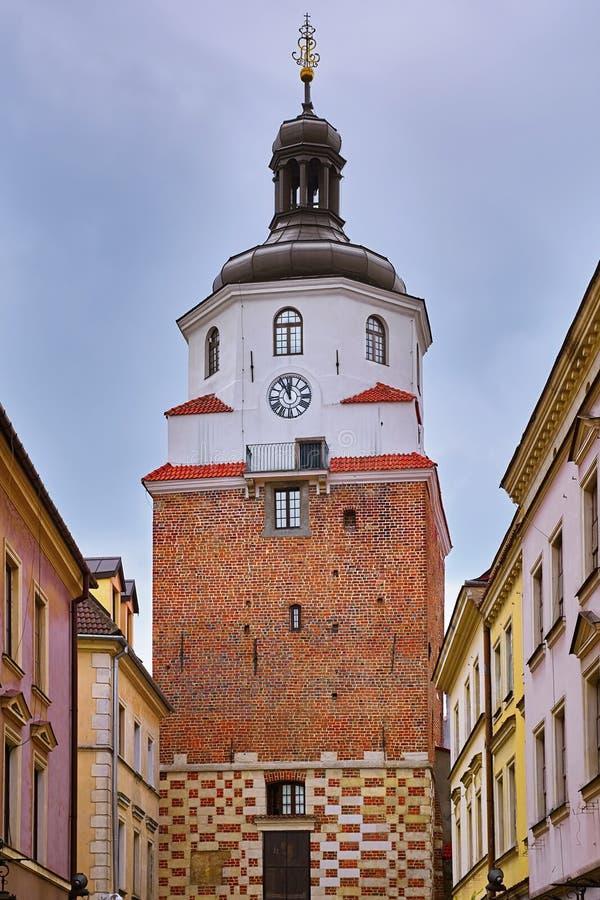 Torn i Lublin royaltyfria bilder