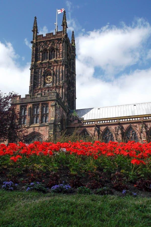 Torn i Wolverhampton royaltyfria bilder