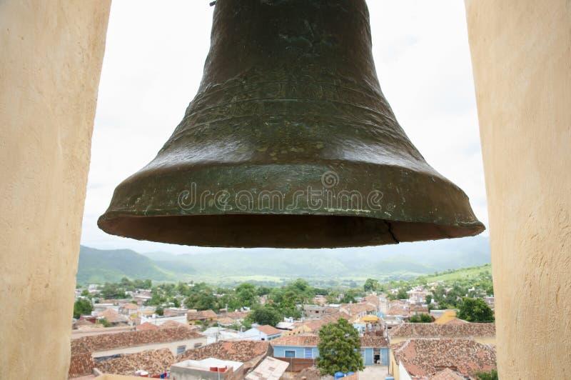 Torn Klocka - Trinidad - Kuba arkivfoton