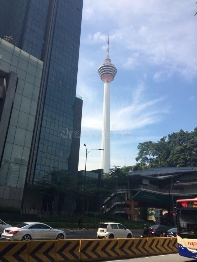 Torn Malaysia för KL Menera royaltyfri bild